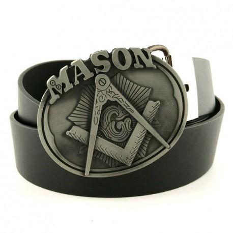 Curea cu simboluri masonice - Mason