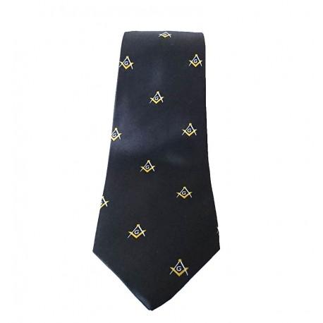 Cravata cu simboluri masonice G