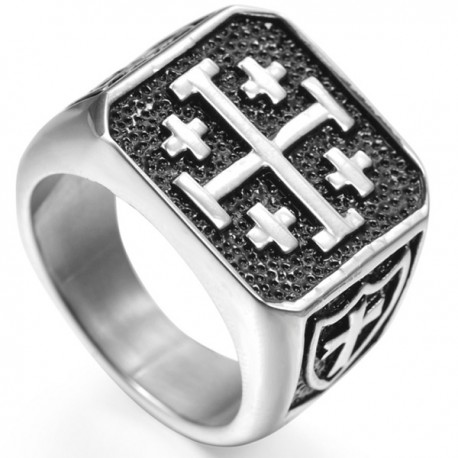 Inel Crucea de Ierusalim
