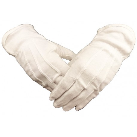 Manusi bumbac cu striatii din PVC