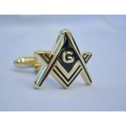Butoni mason Auriu cu litera G