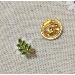 Pin masonic Acacia verde PIN054