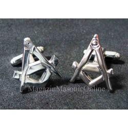Butoni cu simboluri masonice 22 mm