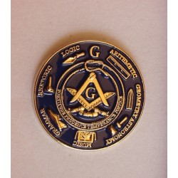 Pin masonic rotund
