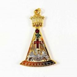 Bijuterie Colan Mason Grad 18 Cavaler Roza-Cruce
