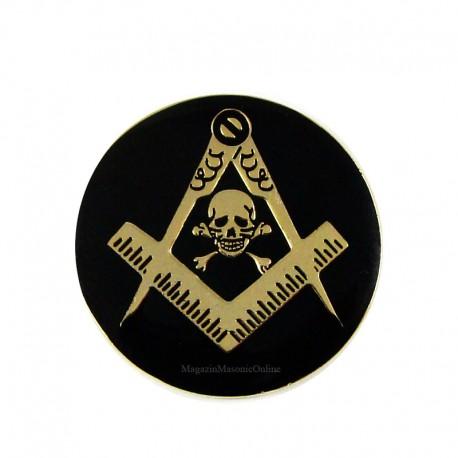 Pin mason Cap de Mort