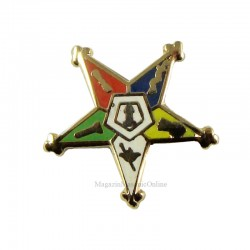 Pin masonic - Stea Orient / Eastern Star