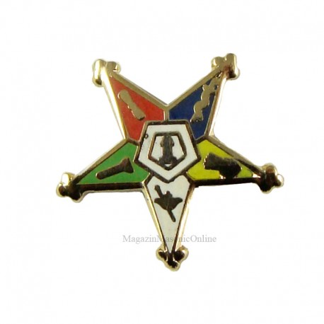 Pin masonic - Stea Orient