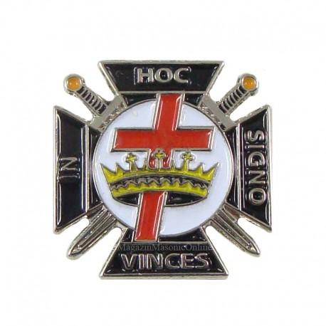 Pin Cavaler Templier Ritul York