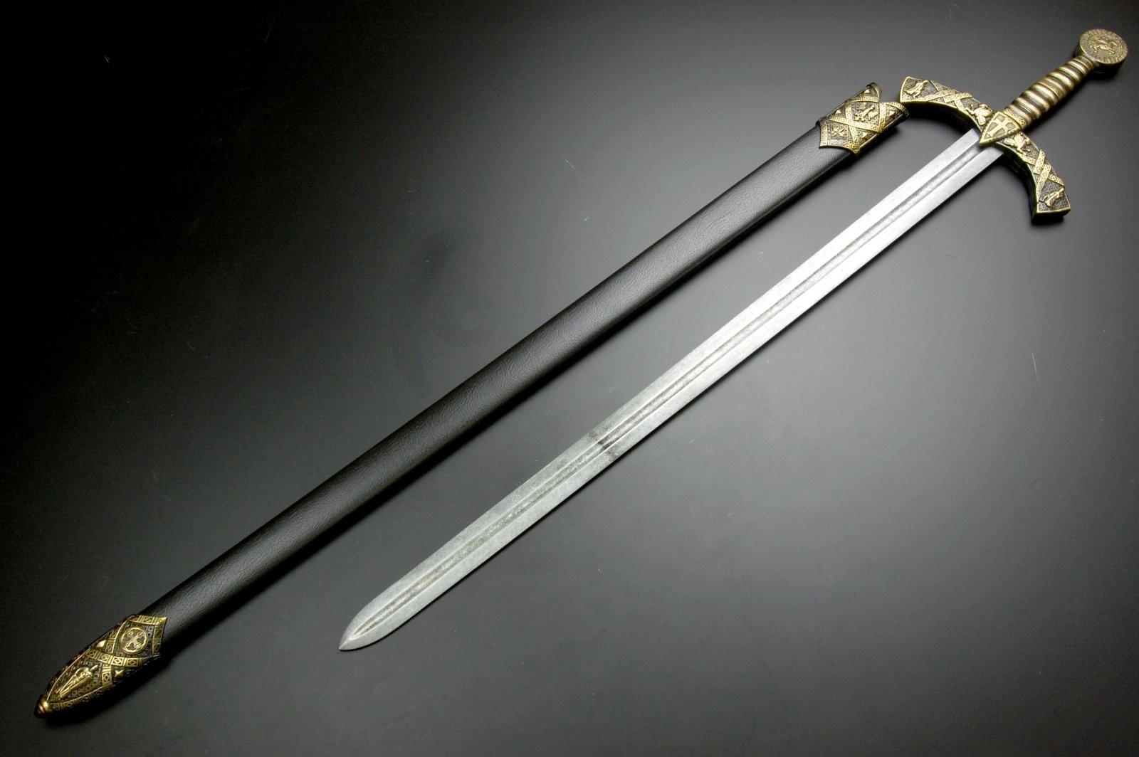 cel mai bun site web cel mai bun site web disponibil Spada cavaler Templier neagra
