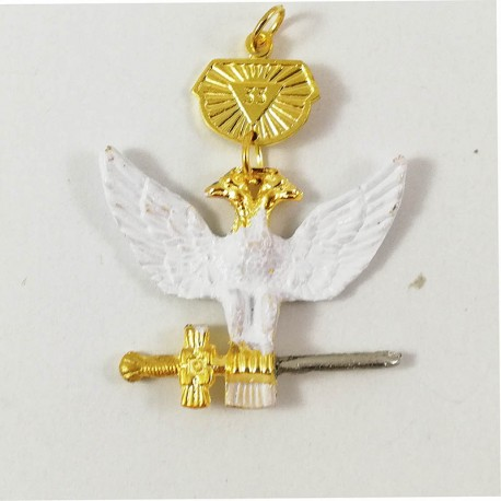 Bijuterie Colan Suveran Mare Inspector General Grad 33 MM614