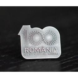 Insigna Centenar Argint ROMANIA 100