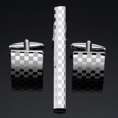 Set Butoni si Ac de Cravata Cu Simboluri Masonice ST017