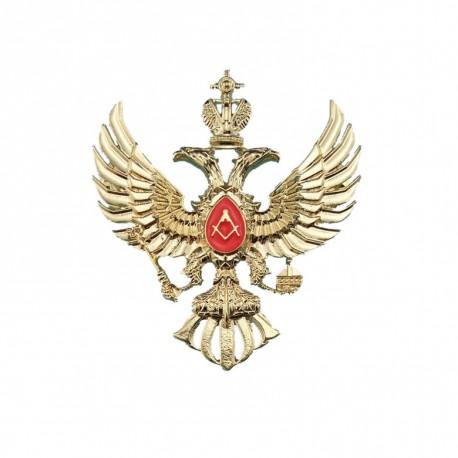 Pin masonic - Vultur cu două capete rusesc