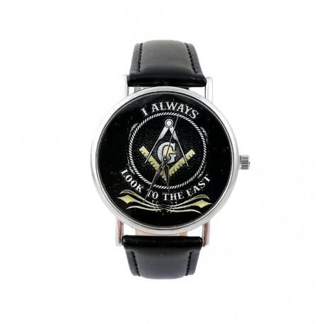 Ceas de mana cu simboluri masonice