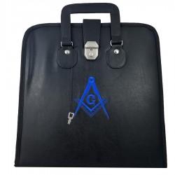 Servieta Paramente Masonice Broderie Albastra