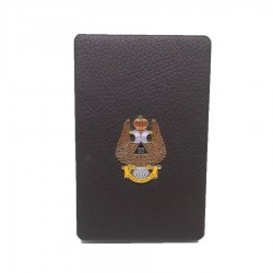Portvizit cu simbol masonic Vulturul bicefal incoronat