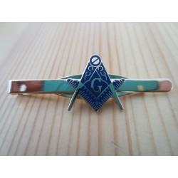 Ac cravata mason albastru