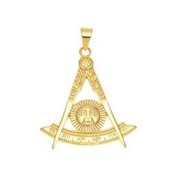 Pandantiv masonic Auriu - Simbol Solar - MM740
