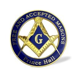 Sticker Auto cu Simboluri Masonice - Prince Hall