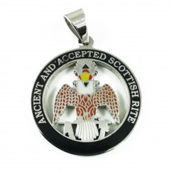 Pandantiv Masonic Vulturul Bicefal - MM753