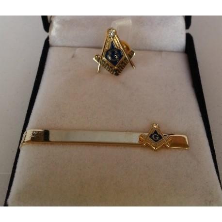 Set cadou mason Echer Compas litera G