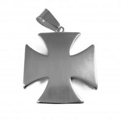 Pandantiv masonic argintiu - Crucea Cavalerilor Templieri - MM759