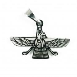 Pandantiv Masonic Argintiu Mic - Ritul Memphis-Misraim - MM764