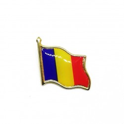 PIN Drapel Romania - Tricolorul - 20mm