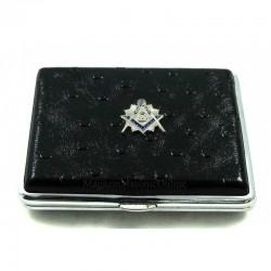Tabachera 18 Tigari Cu Simboluri Masonice Full Size T-022