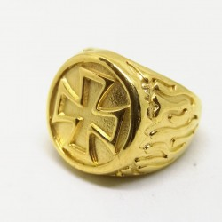Inel Auriu Ordinul Cavalerilor Templieri MM642