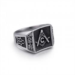 Inel cu simboluri masonice - Master Mason MM100
