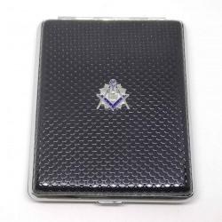 Tabachera 20 Tigari Cu Simboluri Masonice 100's HG-605