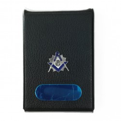 Portvizit cu simbol masonic echer si compas cu litera `G`