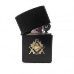 Bricheta cu Simbol Masonic Auriu / Argintiu