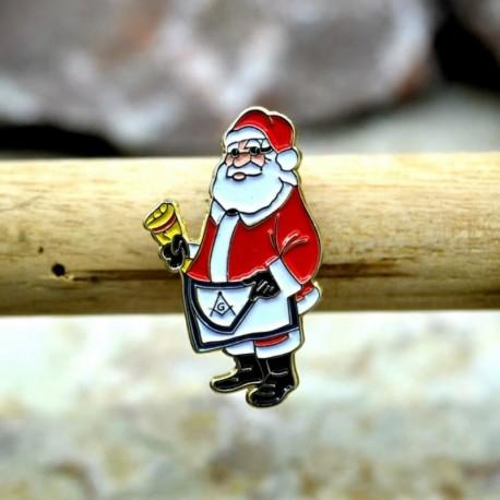 Pin Masonic Santa Klaus