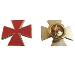 Pin Crucea Patee - Ordinul Cavalerilor Francmasoni