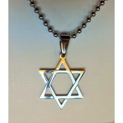 Pandantiv Steaua lui David - Hexagrama SILVER