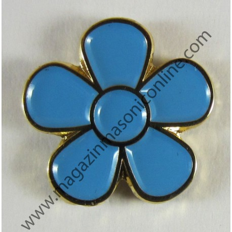 Pin Masonic FLOARE NU MA UITA