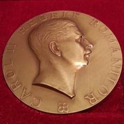 Medalie Carol II - Francmason roman