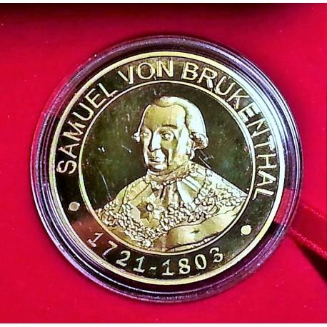 Medalie Samuel von Brukenthal - Francmason roman