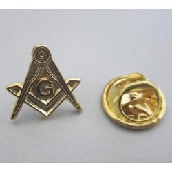 Pin Masonic - Echer si compas