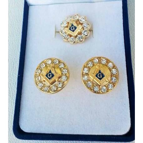 Set cadou 2 bijuteri - 12 pietre