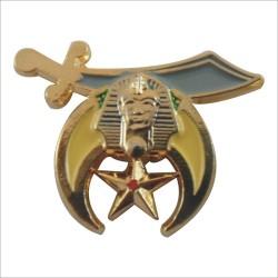 Pin SHRINE A.A.O.N.M.S.