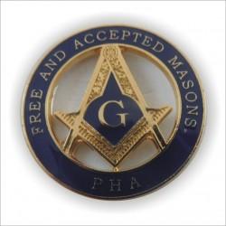 Pin mason PHA mare