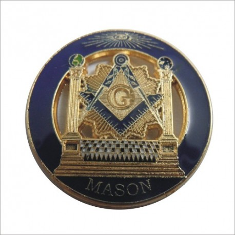 Pin mason - J B