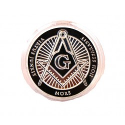 Medalie simboluri masonice - Virtus Junxit Mors Non Separabit