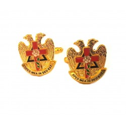 Butoni simboluri masonice - Roza-cruce