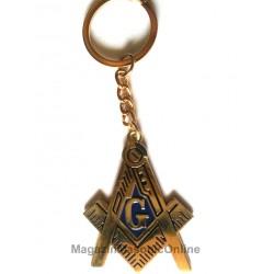 Breloc cu simboluri masonice - Mare