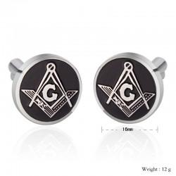 Butoni Cu Simboluri Masonice Abif